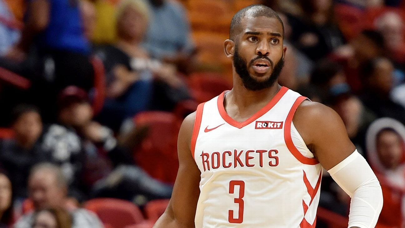 NBA Trade Buzz: Rockets Open Roster For Trades While Miami Targets Chris Paul