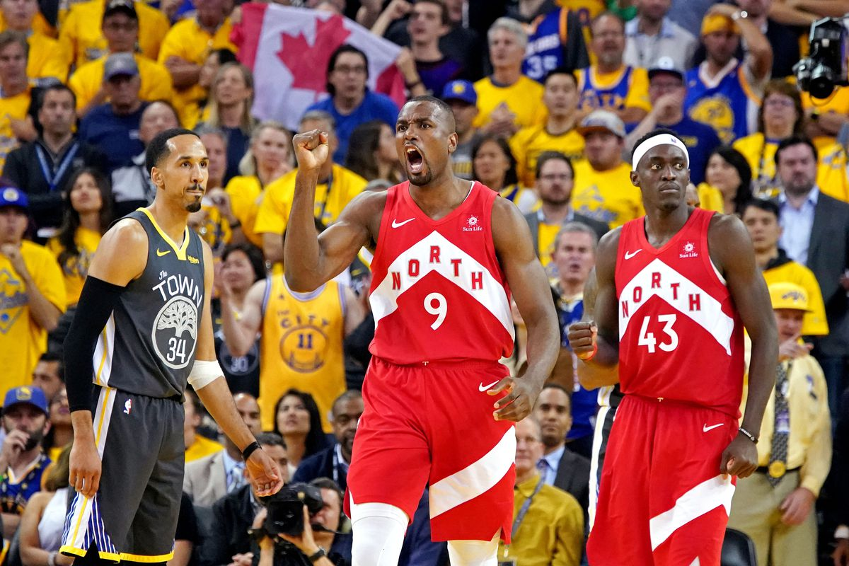 The Toronto Raptors Won Against Golden State Warriors