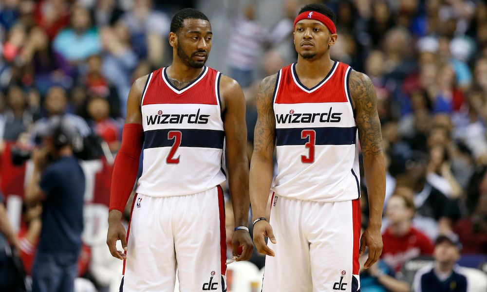 NBA Trade Buzz: Heat Making A Play For Wizards' Wall And Beal