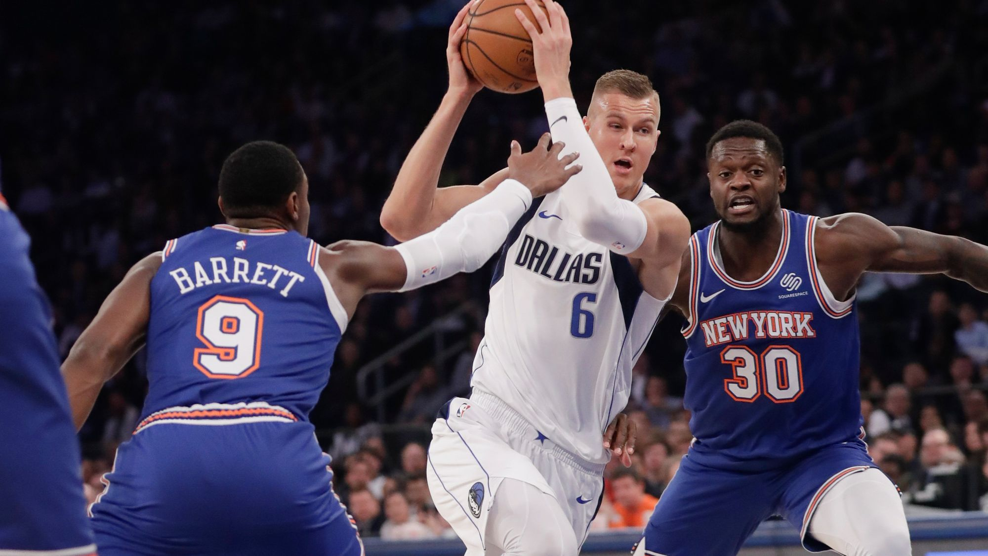 NBA Daily Rundown: Porzingis Gets Hostile Welcome And A Loss In Return To Madison Square Garden