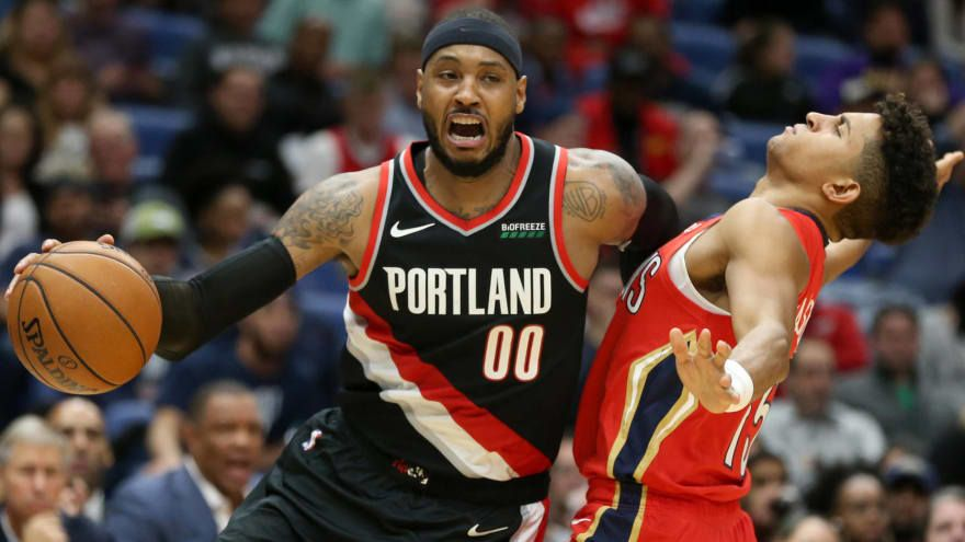 NBA Free Agency News: Struggling Blazers Give Carmelo A Shot For Redemption