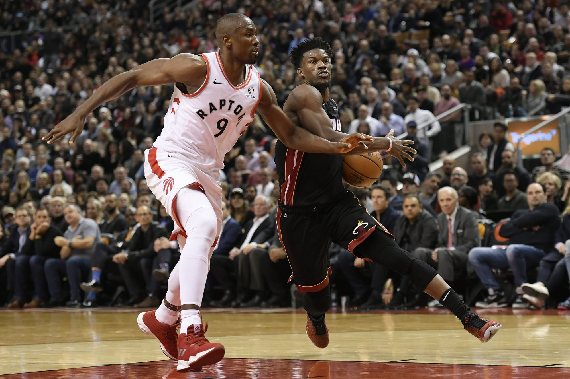 NBA Daily Rundown: Butler And Heat End Raptors' Unblemished Record At Home