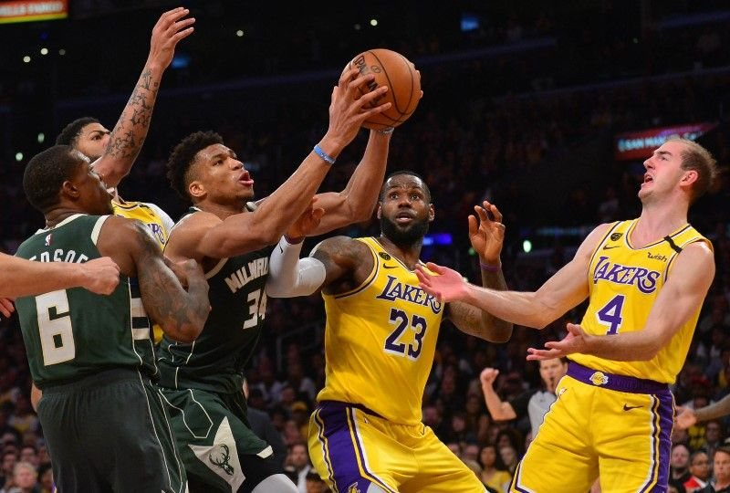 NBA Daily Rundown: James Outduels Antetokounmpo In Lakers Victory