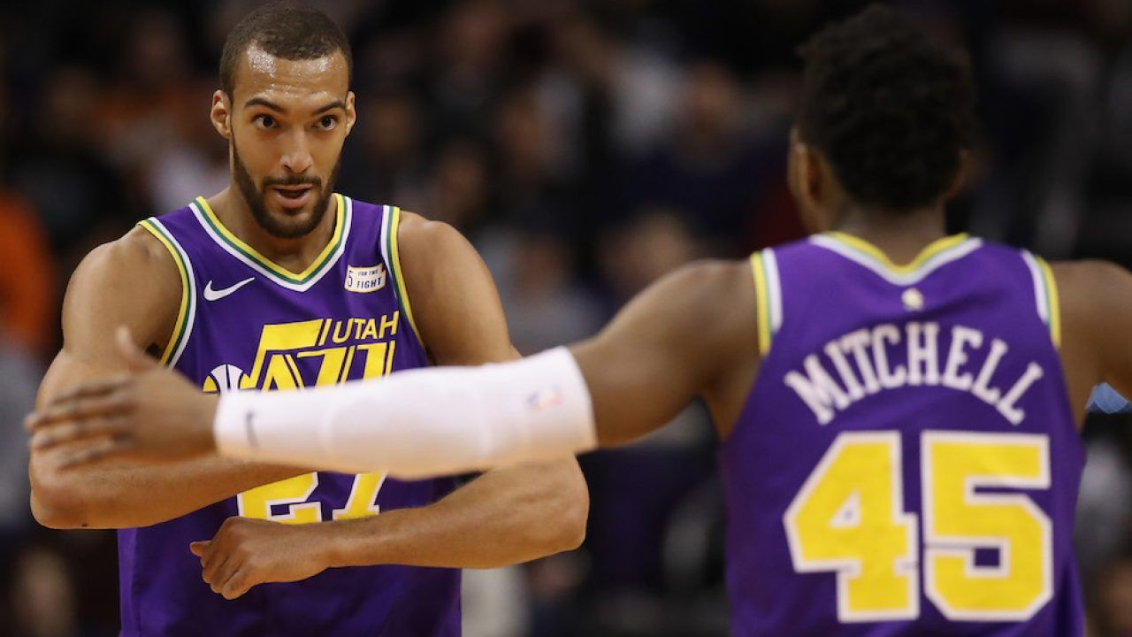 NBA Trade Buzz: Jazz Deny Rumors Of Trading Mitchell Or Gobert